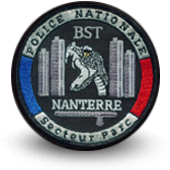 CREATION PATCH POLICE - BST NANTERRE