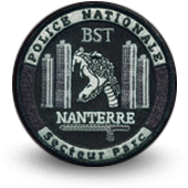 CREATION PATCHES POLICE - BST NANTERRE BASSE VISIBILITE