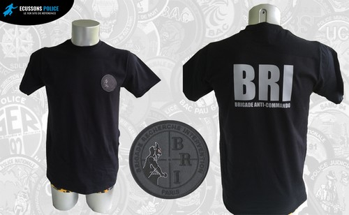 tee-shirt POLICE BRI PARIS BRIGADE ANTI-COMMANDO