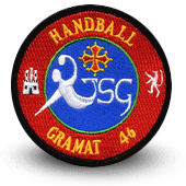 écusson brodé club de handball