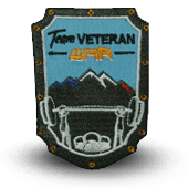 Embroidery patch TEAM VETERAN
