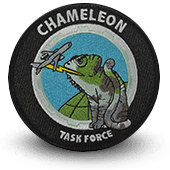 Ecusson brodé CHAMELEON Task Force