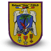 Ecusson brodé Richard Dick Field