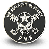 Ecusson PVC 1er Regiment de SPAHIS